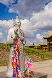 Statue of Buddhist saint Royalty Free Stock Images