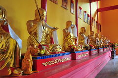 The statue in a Buddhist temple. Stock Image