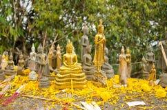 Statue buddisti Fotografia Stock Libera da Diritti