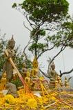 Statue buddisti Immagine Stock Libera da Diritti