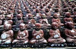 Statue buddisti fotografia stock
