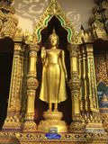 Statue of Budha in a temple, Thailand Royalty Free Stock Photography