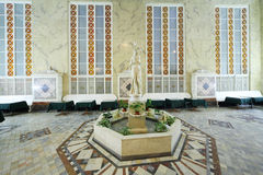 Statue in buffet of Tchaikovsky Concert Hall Stock Photos