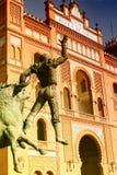 Statue of Bullfighter Stock Photo