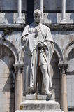 The statue of Burlamacch Lucca Italy Stock Photography