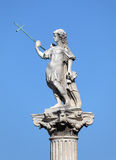Statue in Cadiz, Spain Royalty Free Stock Photo