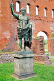 Statue of caesar augustus Stock Images