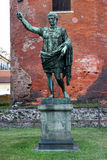 Statue of Caesar Augustus Stock Image