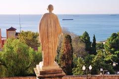 Statue of Caesar in Tarragona, Spain Stock Image