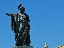 Statue in Cagliari Stockfotos
