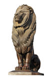 Statue of Cairo's Lion Royalty Free Stock Photos