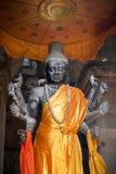 Statue cambodgienne de Vishnu Images libres de droits