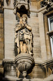 Statue at Cambridge University Royalty Free Stock Images