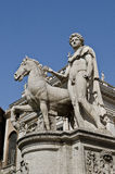 Statue at Campidoglio Royalty Free Stock Photography