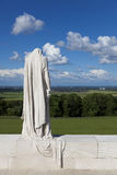 Statue in the Canadian National Vimy Memorial Royalty Free Stock Images