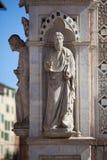Statue of the Cappella di Piazza Stock Photography