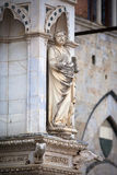 Statue of the Cappella di Piazza Stock Images