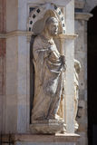 Statue of the Cappella di Piazza Royalty Free Stock Images