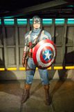 Statue of Captain America Royalty Free Stock Photo