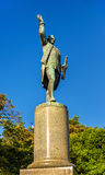 Statue of Captain Cook in Hyde park - Sydney Stock Photography