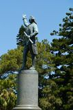 Statue of Captain Cook Stock Image