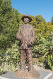 Statue of Captain Hendrik Samuel Witbooi at the Tintenpalast, Wi royalty free stock images