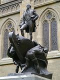 Statue of captain Matthew Flinders Royalty Free Stock Photos