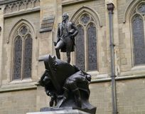 Statue of captain Matthew Flinders Royalty Free Stock Images