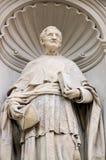 Statue cardinale de John Henry Newman Image stock