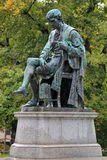 Statue of Carl Wilhelm Scheele in Stockholm, Sweden Stock Image