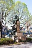 Statue of Carlo Montanari in Verona city Royalty Free Stock Photography