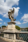 Statue of Castel Sant'Angelo, Rome Stock Images