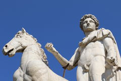 Statue of Castor Royalty Free Stock Images