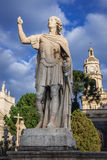 Statue in Catania Royalty Free Stock Photos