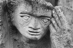 Statue, cathédrale de puits Photos stock