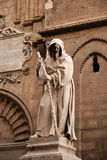 Statue from the Cathedral of Palermo Royalty Free Stock Photography