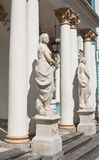The statue of the Catherine Palace. St. Petersbu Royalty Free Stock Images