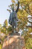 Statue of Cecil Rhodes in Cape Town, South Africa Royalty Free Stock Photography