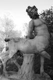 Statue of the Centaur in Pavlovsk Stock Images
