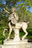 Statue of the Centaur in Pavlovsk Royalty Free Stock Photo