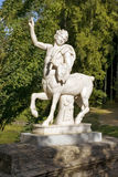 Statue of a centaur, Pavlovsk park, St. Petersburg Stock Photo