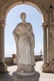 Statue of Cerise near Villa Cimbrone in Ravello on the Amalfi Co Royalty Free Stock Image