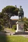 Statue of Cesario Console, Naples Stock Image