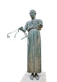 Statue Charioteer in Delphi museum, Greece Royalty Free Stock Image