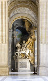 Statue of Charlemagne by Agostino Cornacchini Stock Photos