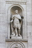 Statue of Charlemagne. In Saint Louis cathedral of Rome, Italy Stock Photography