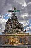 Statue Charles Bridge Lizenzfreies Stockbild