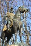 Statue of Charles d'Este-Guelph duke of Brunswick, Geneva, Switz Royalty Free Stock Photo