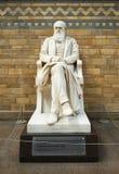 Statue of Charles Darwin Royalty Free Stock Photos