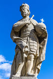 Statue of Charles the Great-Kutna Hora,Bohemia Royalty Free Stock Photography